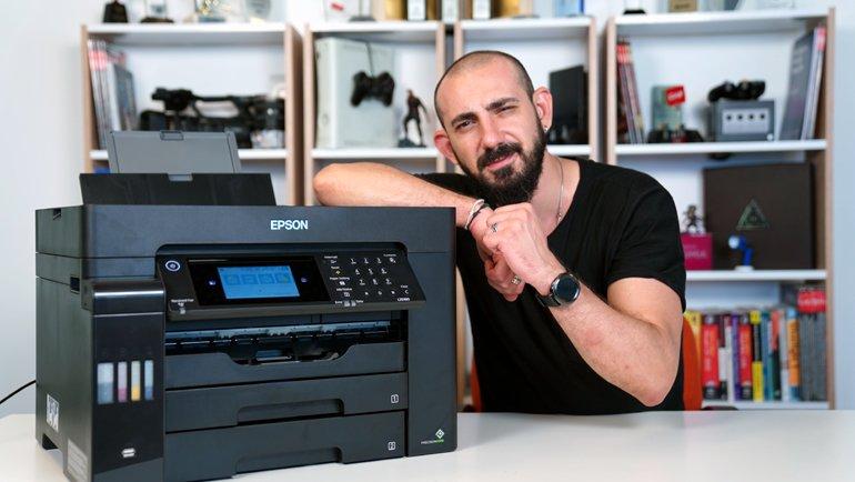 Mürekkebi üç yıl bitmeyen Yazıcı: İşte Epson EcoTank L15160 İncelemesi!