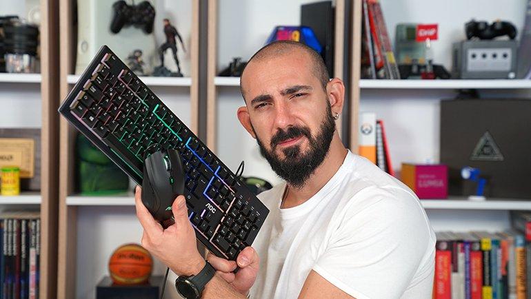 AOC GM200 Gaming Mouse ve GK200 Gaming Keyboard İnceleme