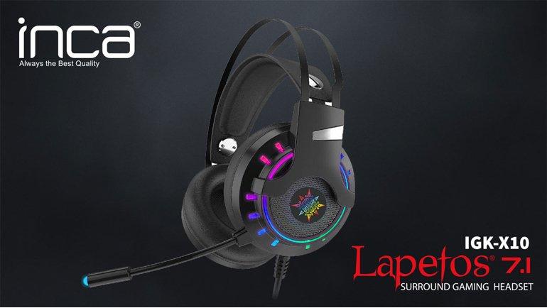 Motorlu Oyuncu Kulaklığı Inca Lapetos IGK-X10 İncelemesi