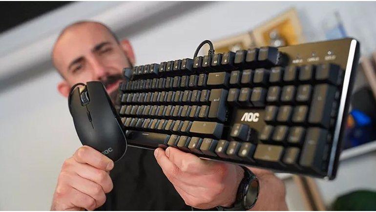 AOC GM500 Gaming Mouse ve GK500 Gaming Keyboard İnceleme