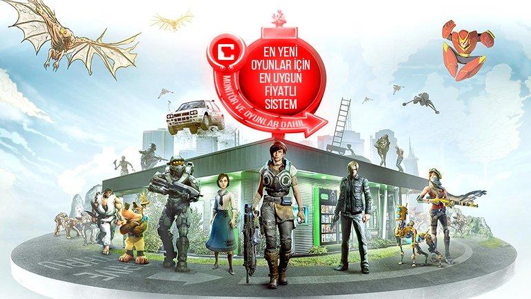 Yeni Nesil Oyunları da Oynayabileceğiniz En Uygun Fiyatlı Oyun Sistemi