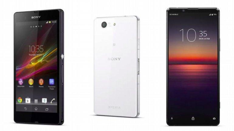 Sony Xperia Amiral Gemisi Telefonların Tarihi: 2013'ten bugüne Xperia...