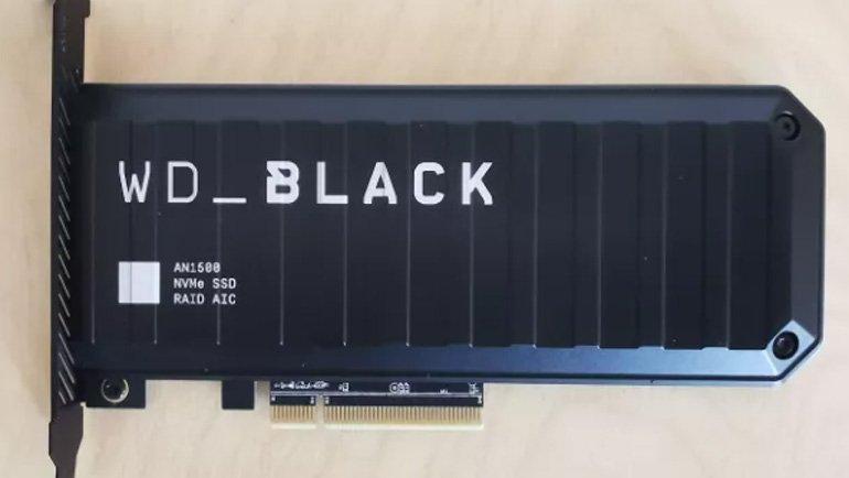 WD_Black AN1500 NVMe SSD İncelemesi