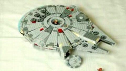 Lego'dan Millenium Falcon