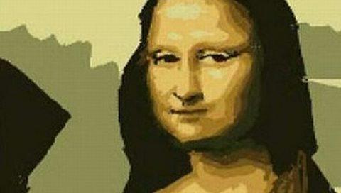 Paint ile Mona Lisa