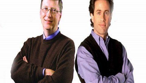 Gates'li ve Seinfeld'li MS reklamı