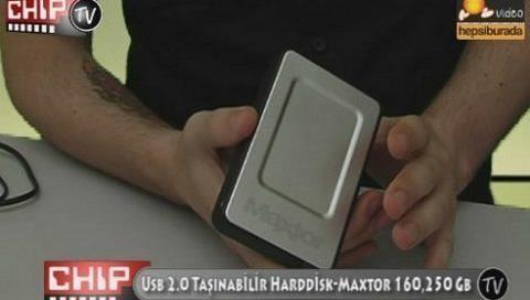 Maxtor One Touch 4 Mini 160 GB - USB Disk