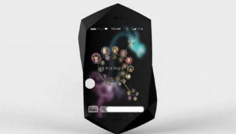 Şeffaflaşan, duyguları algılayan bir BlackBerry!