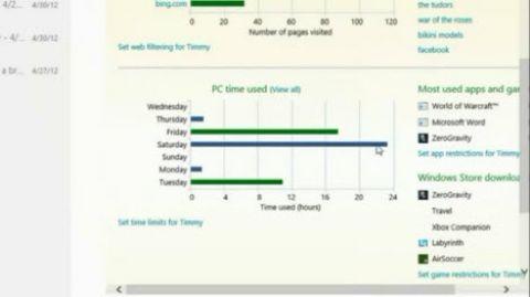 Windows 8'de yer alacak Aile Güvenliği özelliği!