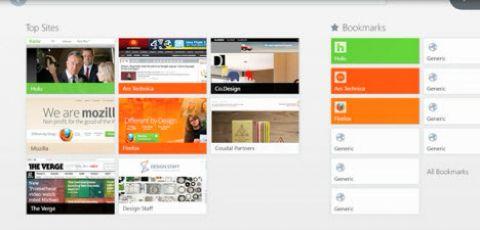 Gelişim aşamasındaki Metro Firefox'dan video!
