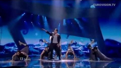 Can Bonomo'nun Eurovizyon 2012 Finali Performansı (HD)