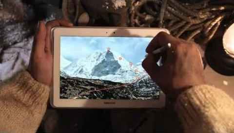 Galaxy Note 10.1'in yaratıcılık temalı reklamı