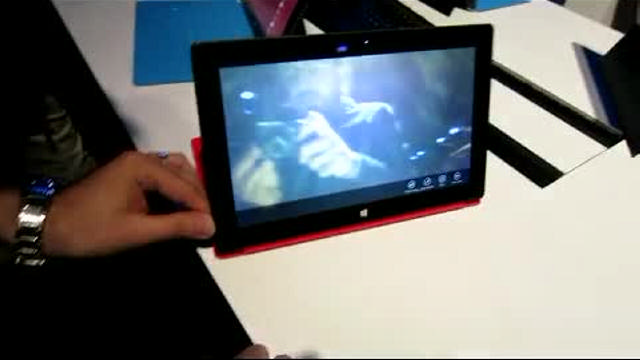Microsoft'un yeni tabletinin marifetleri bu videoda