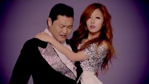 PSY & Hyuna - Gangnam Style