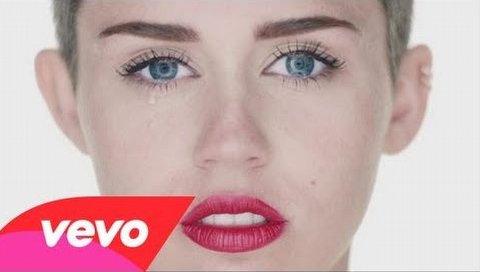 Miley Cyrus'un tartışmalı yeni klibi