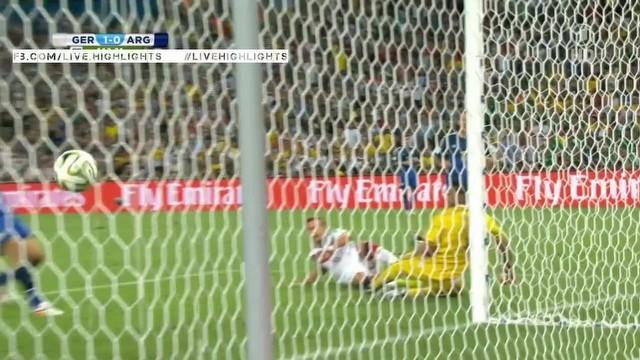 Almanya 1-0 Arjantin - İşte maçın golü!