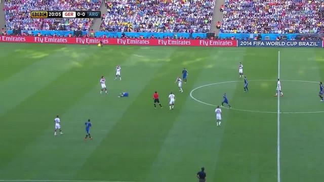 2014 Dünya Kupası Almanya 1 - 0 Arjantin geniş özet!