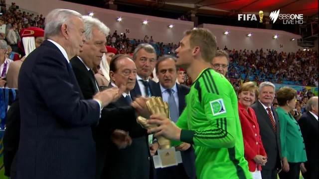 Almanya, Dünya Kupası'nı kaldırıyor!