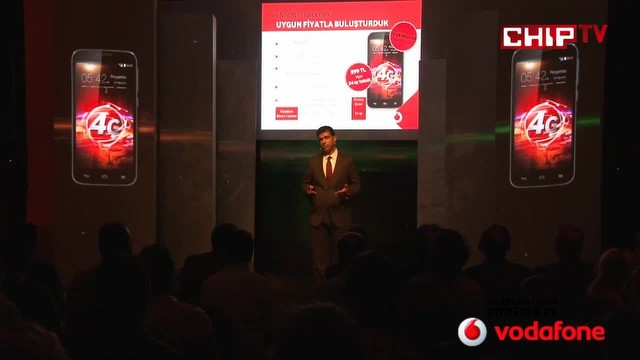 Vodafone Smart 4 Power Lansmanı