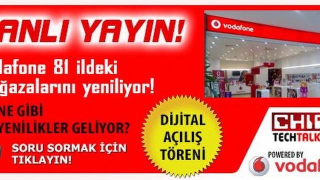 Vodafone 81 ildeki mağazalarını yeniliyor!