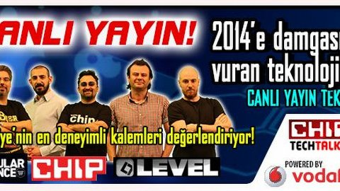 CHIP, Level ve Popular Science'ın penceresinden 2014