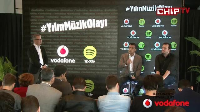 Vodafone ve Spotify'dan yılın müzik olayı!
