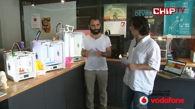 Türkiye'nin ilk 3D kafesinden Canlı Yayın