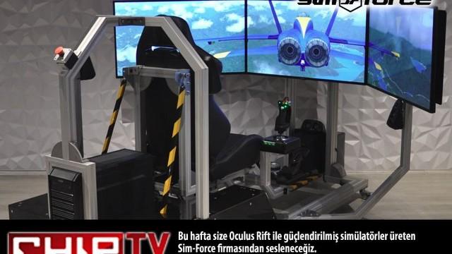 Oculus rift ile güçlendirilmiş sanal gerçeklik sistemini denedik