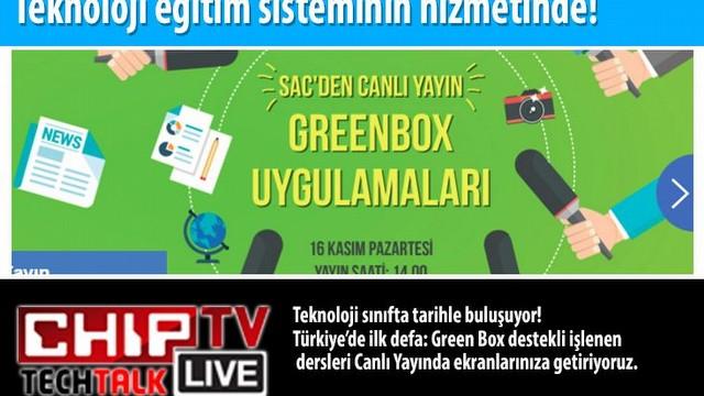 Türkiye'de ilk defa: Green Box destekli işlenen dersleri Canlı Yayında