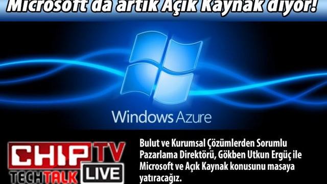 Microsoft Azure ve Açık Kaynak kodu desteği mercek altında