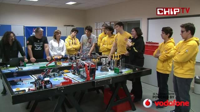 Türkiye'deki genç robotçuların parlak başarısı