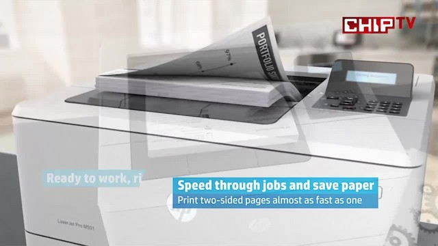 HP Laserjet Pro M501 Video İnceleme
