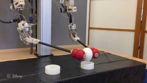 Disney, hareketleri taklit eden robot yapıyor