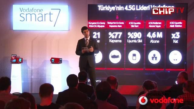 Vodafone'un yeni akıllı cihaz serisi!