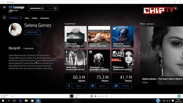 Tüm yönleriyle HP'nin online müzik servisi HP Lounge
