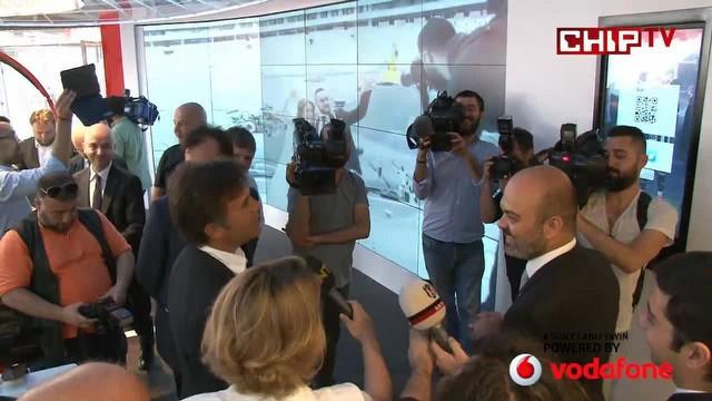 Vodafone Arena'da Türkiye'nin en dijital mağazası açıldı.