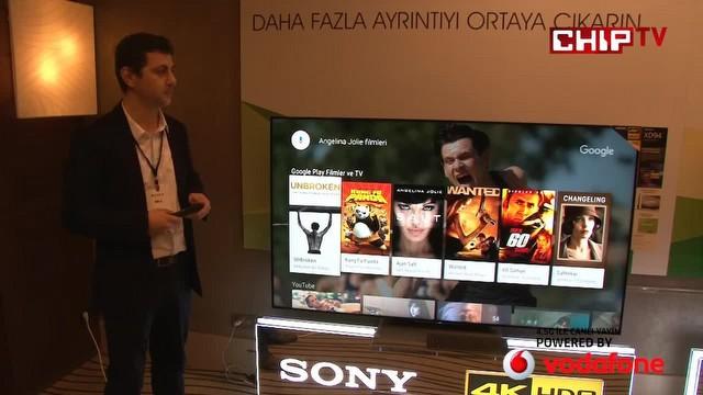 Android TV OS ile Sony 4K HDR Televizyonlar!