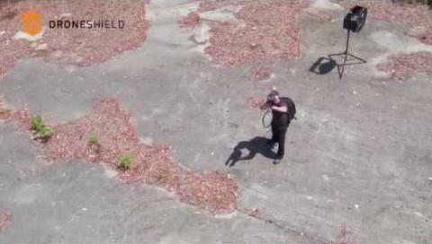 Drone'u aşağı alan silah: DroneGun
