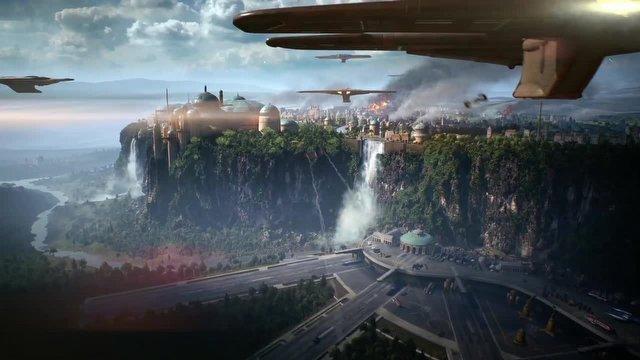 Star Wars: Battlefront II Oyun içi ilk fragmanı yayınlandı