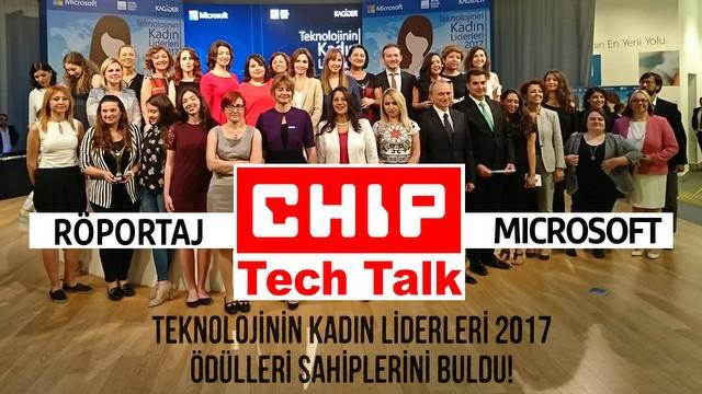 Teknolojinin Kadın Liderleri 2017 Ödül Töreni