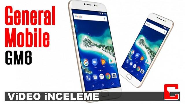 General Mobile GM 6 Video İnceleme
