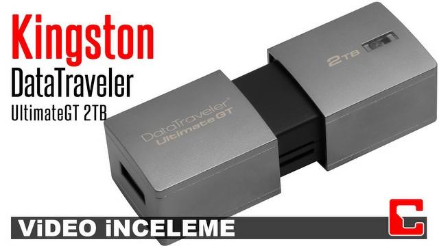 Kingston DataTraveler Ultimate GT Video İnceleme