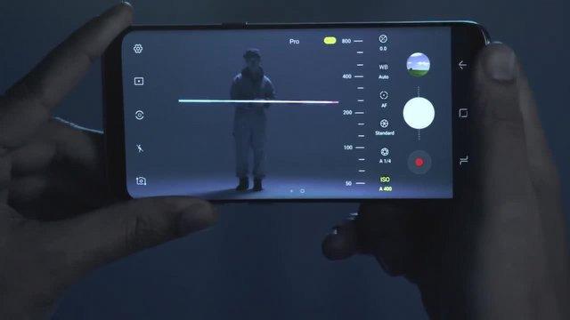 Galaxy S8: Kamera -  Pro Modu