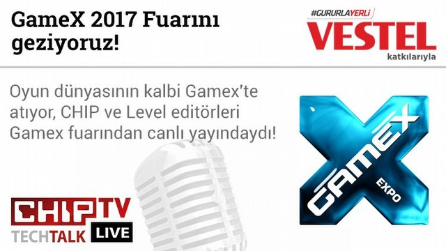 GameX 2017 Fuarını geziyoruz!