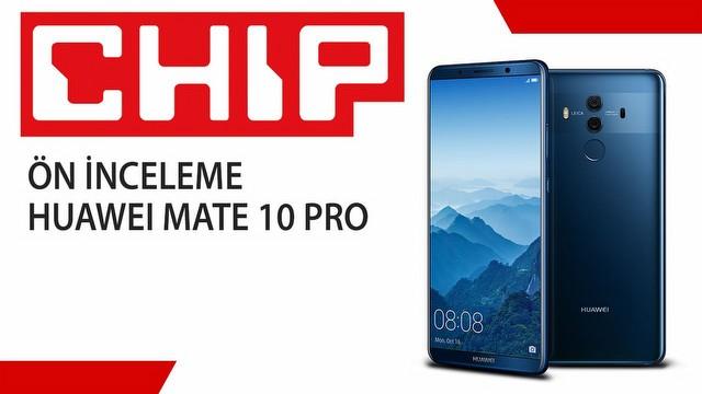 Huawei Mate 10 ön inceleme