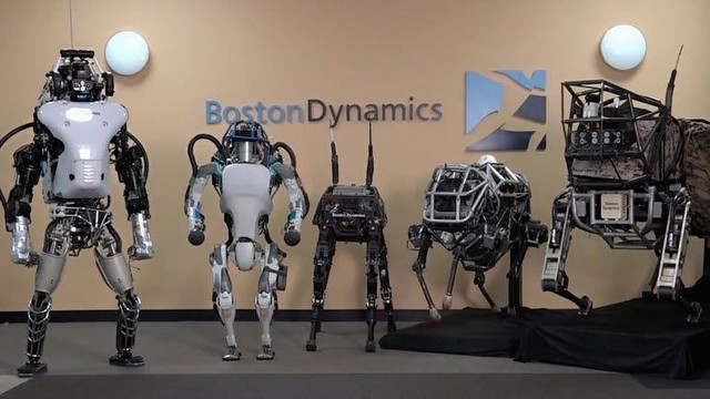 Boston Dynamics'in Atlas'ı Artık Ters Takla Atıyor