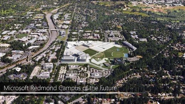 Microsoft Redmond Kampüsü Baştan Aşağı Yenileniyor