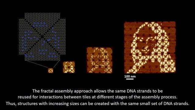 Dünyanın En Küçük Mona Lisa'sını DNA'dan Ürettiler