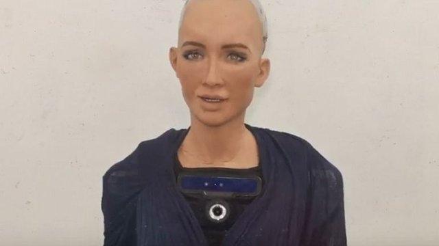 Robot Sophia'dan Mesaj Var: 'Merhaba Türkiye'