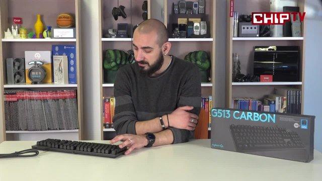 Logitech G513 Carbon Video İnceleme